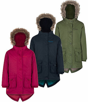 Regatta Girls Totteridge Parka Waterproof School Coat Size 34