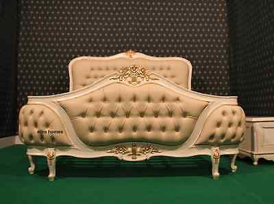 > BESPOKE King or Queen Designer luxury Chatelet® Bed Handmade fr mahogany wood