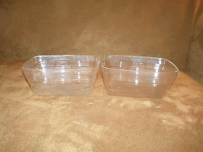 Longaberger Cracker Basket 2 Piece Protector Set