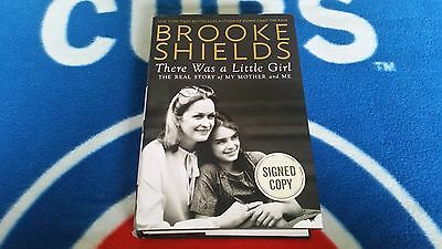 Brooke Shields: There Was A Little Girl hardcover book autographed signed