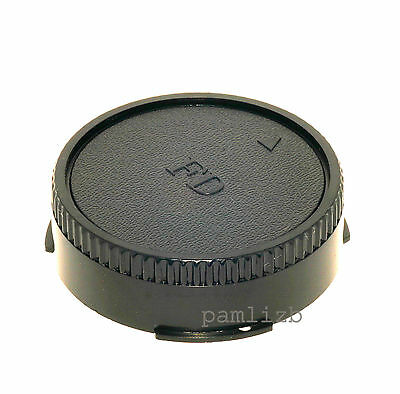 Rear replacement cap , fits Canon  FD manual focus film camera lens
