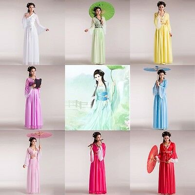 Chinese-style Ancient Infanta Fairy Princess Dramaturgic Costume Robe Dress