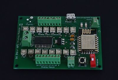 16 Analog Channels  Data Acquisition WiFi Wireless Module