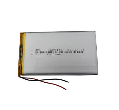 3.7V3500 mah Polymer rechargeable Li Battery For PDA GPS DVD Tablet PC 4662114