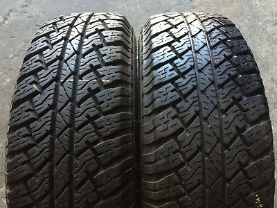 2 x 245 70 16 Bridgestone Dueler At % 95 Tread . Fitting Available, Freight