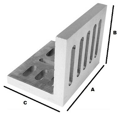 SLOTTED ANGLE PLATES (OPEN END) 6 x 5 x 4-1/2""