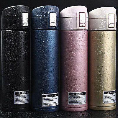 Hot 500ml Stainless Steel Insulation Thermos Vacuum Cup Mug Travel Picnic Bottle