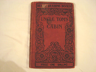 Uncle Toms Cabin Life Among The Lowly 1907 Antique Book Bells Reading Books