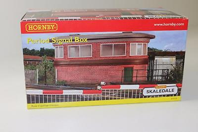 OO Scale Hornby Skaledale Period Red Brick Signal Box R9729 FNQHobbys