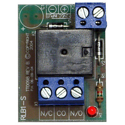 Tactical RLB1-S-24VDC 24Vdc Single Pole, Double Throw Relay with 6A Contacts