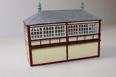 OO Scale Hornby Skaledale OO 1:76 LMS Signal Box R.9725 FNQHobbys
