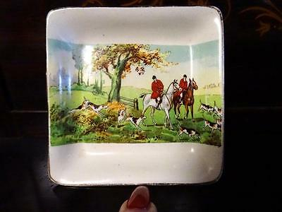 Midwinter 1950S Porcelon Fox Hunting Dish