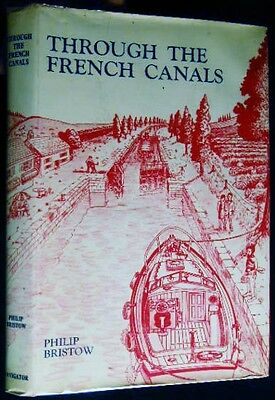 1970 Through French Canals Cruise Waterways Of France Maps Illustrated + Dj