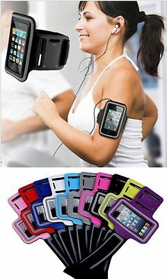 5 x Sports Running Jogging Gym Cycling Armband Pouch iPhone & Samsung Phones
