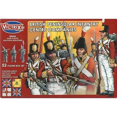 Victrix - British peninsular infantry centre companies - 28mm