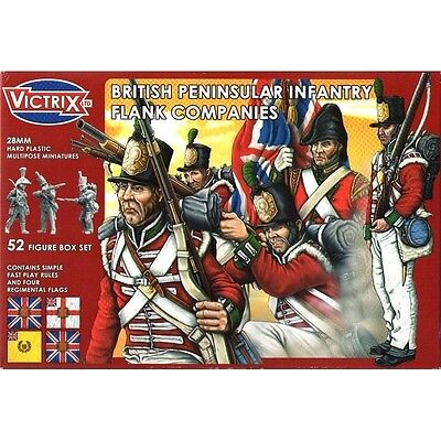 Victrix - British peninsular infantry flank companies - 28mm
