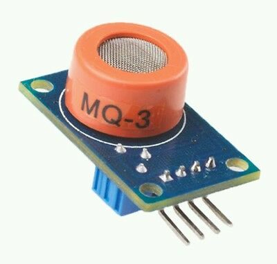 MQ-3 Alcohol Sensor Module Breath Gas Detector Ethanol Detection