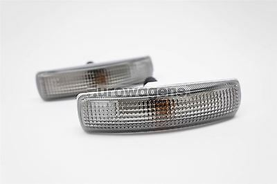 Range Rover Sport 05-14 Smoked Indicators Repeaters Pair Left Right With Bulbs