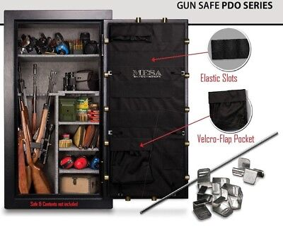 PDO22 Mesa Door Organizer Panel Gun Safe MBF5922 Pistol Storage System Accessory
