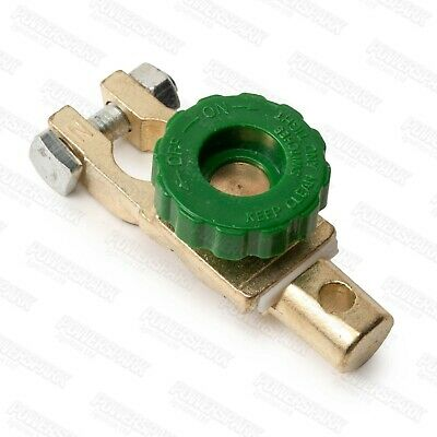 Powerspark ® Battery Isolator Clamp Switch Cut Off Leisure Battery