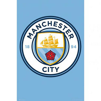 "Manchester City F.C - ""CREST"" Poster (#3)"