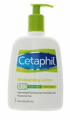 NEW Cetaphil All Skin Types Moisturizing Lotion Body & Face - 16 Ounce