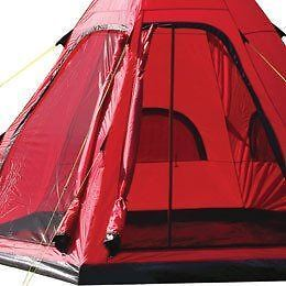 Yellowstone Teepee Tipi Style Tent 4 Man Berth Person Camping Festival Wigwam