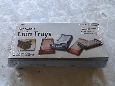 Stackable Coin Trays
