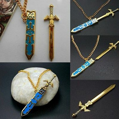 Anime The Legend of Zelda Removable Master Skyward Sword Necklace Pendant Charm