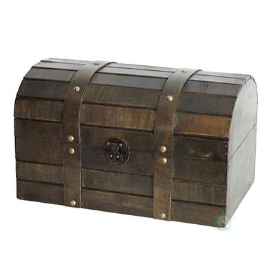 Vintiquewise Old Style Barn Wood Trunk