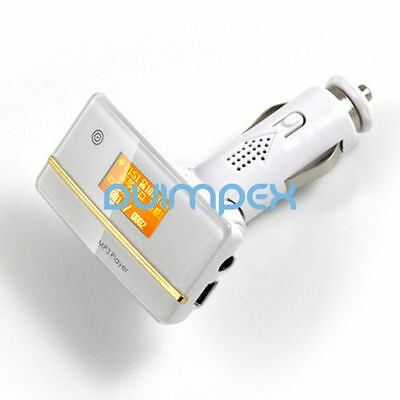 F07 KFZ MP3 Player FM Transmitter USB SD TF Card 2 in 1 PRACTICAL