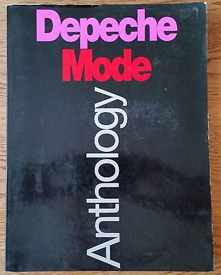 Depeche Mode Anthology Guitar Songbook Piano Vocal Guitar No Tab