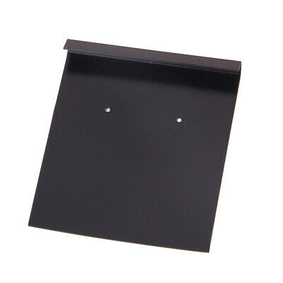 Bulk 100Pcs EAR HOOKS/EARRING Jewelry Display Holder Hang Cards 5 x 5.5cm Black