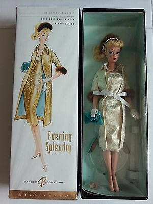Barbie Evening Splendor Gold Label Figure - New