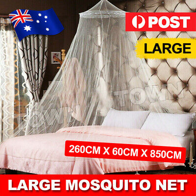 Canopy Net Bed Curtain Dome Mosquito Netting Insect Stopping Double Single Queen