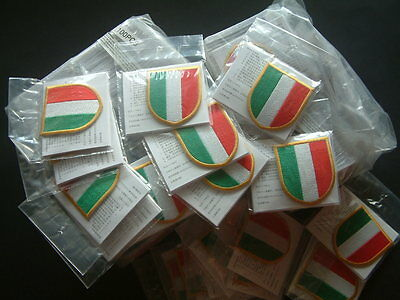 "10 x SCUDETTO ufficiale 2003-2011 ""NIKE JUVENTUS - INTER"" official patch"