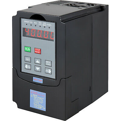 1.5Kw 2Hp 220V Ariable Frequency Drive Inverter Converter Vfd. 48-400Hz 3Phase