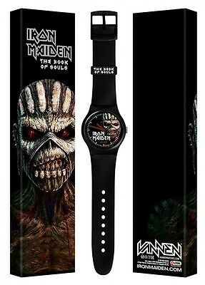 IRON MAIDEN THE BOOK OF SOULS VANNEN WATCH collaboration limited from Japan New