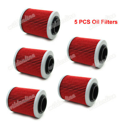 5x Oil Filter Fit CAN-AM OUTLANDER L MAX 570 450 650 1000 850 500 800R