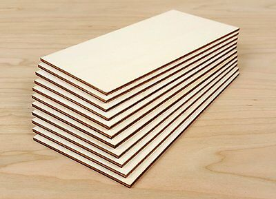 Birch PLywood  5 pieces 750x300x3mm  FSC Grade for laser cutting, pyrography