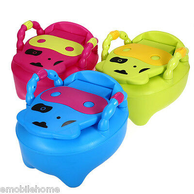 Multifunctional Baby Toilet Potty Chair Colorful Pedestal Pan Kids Toy