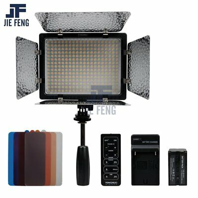 Yongnuo YN-300 II LED Camera Video Light 3200-5500k+7200mAh NP-F970 Battery kit