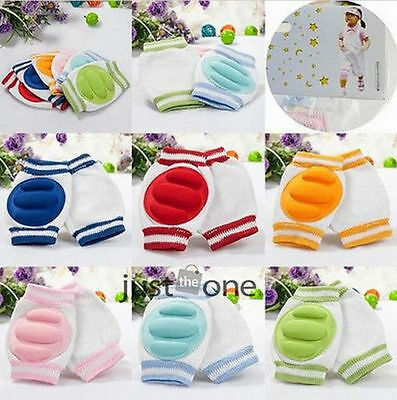 Baby Safety Crawling Knee Pads/Protectors various colours. UK supplier