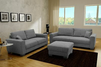 couchgarnitur 3 2 1 hocker eur 100 00 picclick de. Black Bedroom Furniture Sets. Home Design Ideas