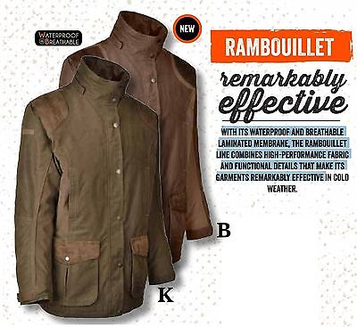 1374 Percussion Rambouillet Jacket Waterproof Hunting Shooting Stalking Coat New