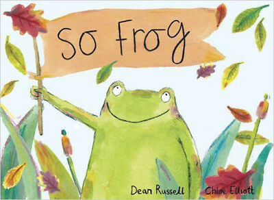 So Frog, New, Russell, Dean Book