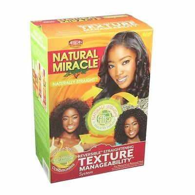 AFRICAN PRIDE NATURAL MIRACLE - texture manageability - Haarglätter, Relaxer