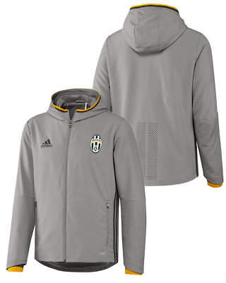 Presentation FC Juventus Adidas Training Jacket 2016 17 Grey