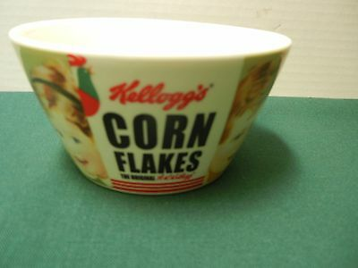 KELLOGG'S CORN FLAKES 100th ANNIVERSARY CERAMIC CEREAL BOWL 2006 VERY NICE!