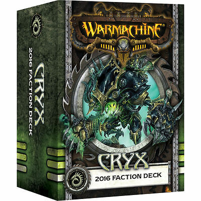 Warmachine: Cryx 2016 Faction Deck PIP 91106